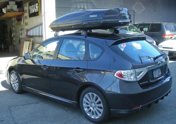 Subaru Impreza Wagon Roof Rack Guide Amp Photo Gallery