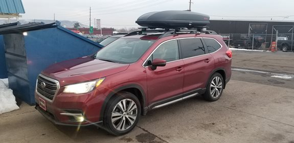 Subaru Ascent Rack Installation Photos