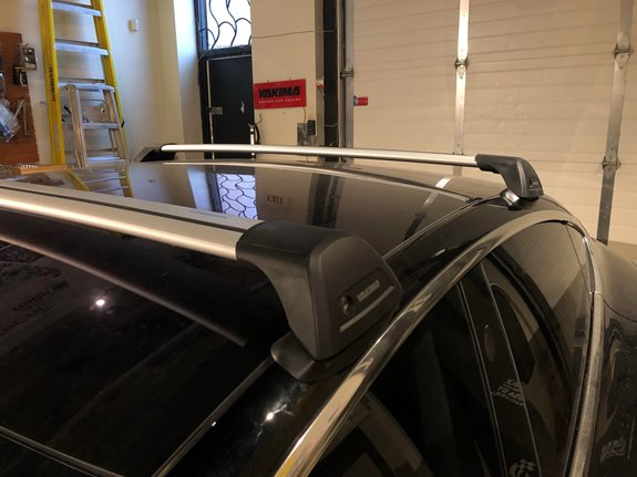 Tesla Model 3 Rack Installation Photos