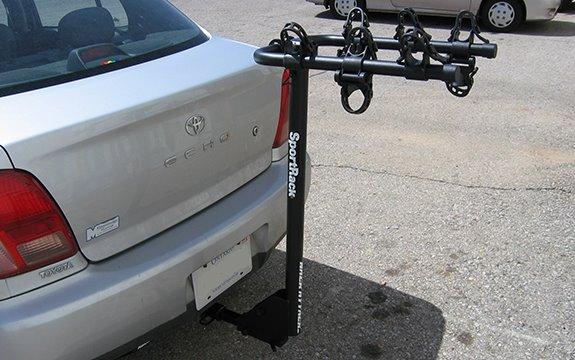 Toyota Echo 4dr Rack Installation Photos