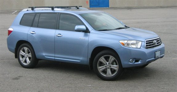 This Is A Custom 2008 Toyota Highlander Roof Rack System.