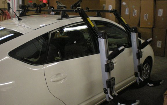 Captivating This Is A Custom 2008 Toyota Prius Kayak Roof Rack System.