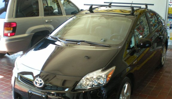 Toyota Prius Rack Installation Photos