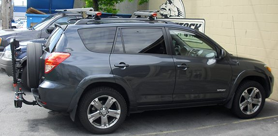 Gallery Toyota Hitch Bike Rack Toyota Rav4 5dr Rack