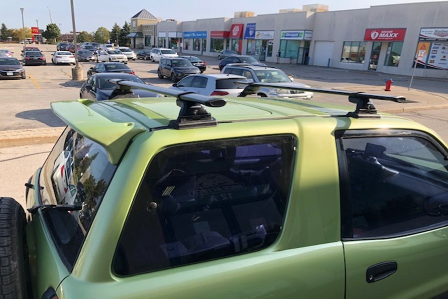Toyota Rav4 2DR Base Roof Rack Systems installation