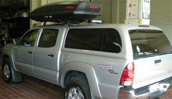 Toyota Tacoma Std Cab Rack Installation Photos