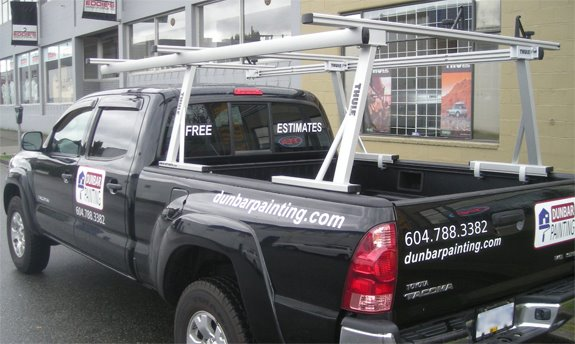 Toyota Tacoma Std Cab Rack Installation Photos
