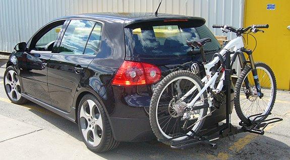 Trunk Mount Bike Rack >> Volkswagen GTI 5dr Rack Installation Photos