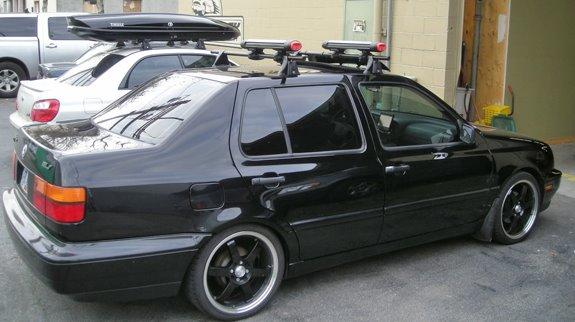 Delightful This Is A Custom 1998 VW Jetta 4dr Ski U0026 Snowboard Roof Rack System.