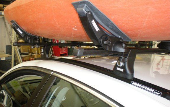 Volkswagen Jetta 4dr Rack Installation Photos