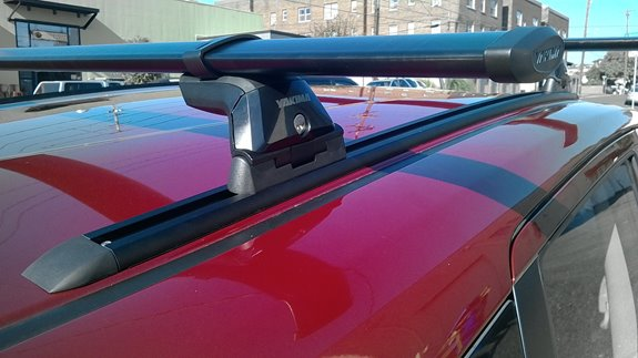 Nissan Versa Note Base Roof Rack Systems installation