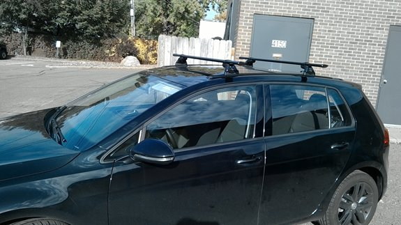 Volkswagen Golf 5dr Base Roof Rack Systems installation