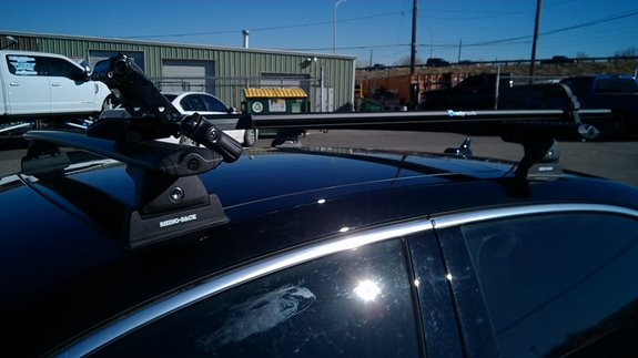 Audi A3 4dr Base Roof Rack Systems installation