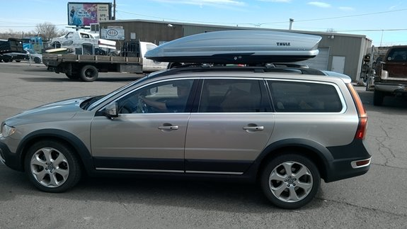 to fit Volvo XC70 Roof Racks Cross Bars Carrier Rails Roof Bar Silver