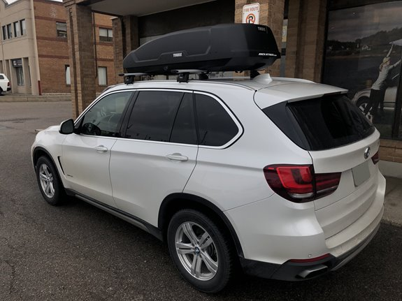 BMW X5 Cargo & Luggage Racks installation