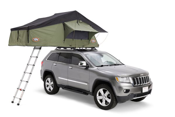 Tepui Ruggedized Series Autana 3 with Annex Olive Green Roof Top Tent