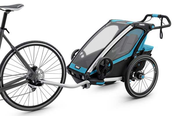 Thule Chariot Sport 1 + Cycle/Stroll - Blue