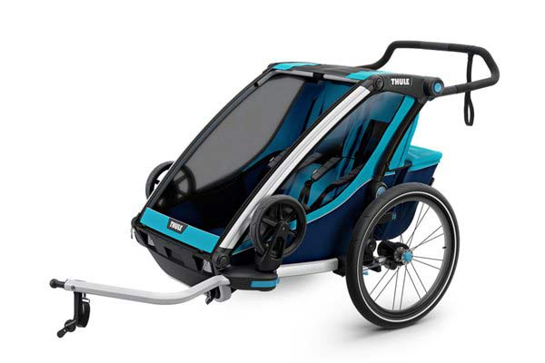 Thule Chariot Cross 2 + Cycle/Stroll - Blue