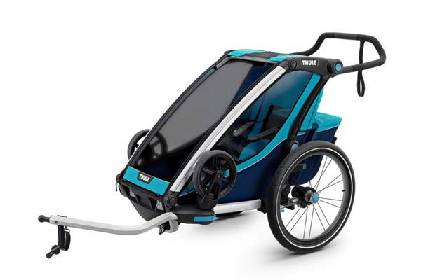 Thule Chariot Cross 1 + Cycle/Stroll - Blue
