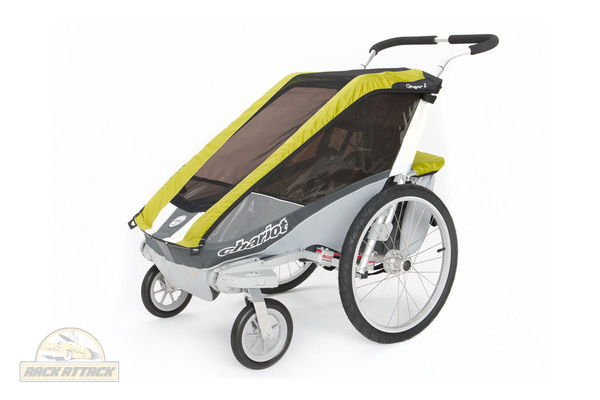 Chariot Cougar 1 with Strolling Kit Avocado