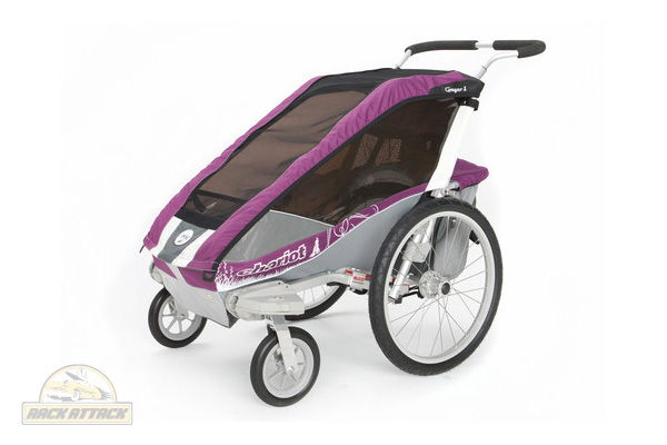 Chariot Cougar 1 with Strolling Kit Purple