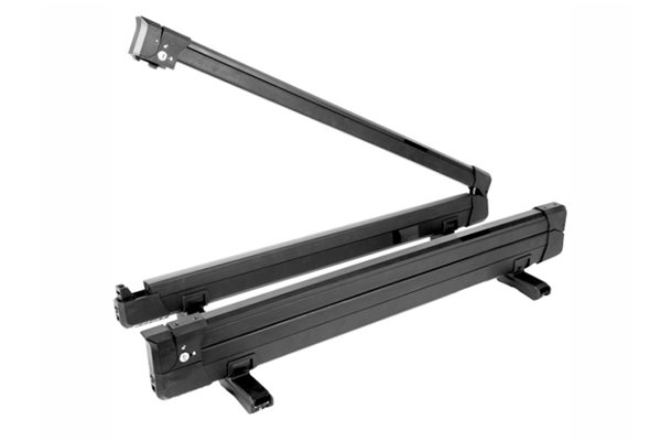 Kuat Switch 6 - Clamshell Flip Down Ski Rack - Black - 6 Ski