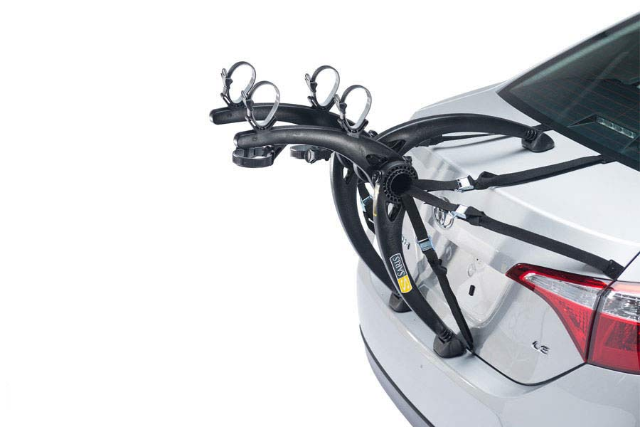 Saris 805 Bones 2 Bike Grey Saris Trunk Mount Bike Racks