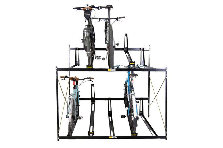 Saris 8118 Stretch 8 Bike Locking Commercial Rack Bike Rack