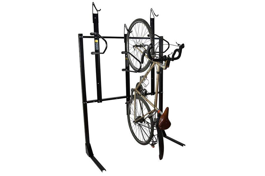 Saris Vertical 3 Bike Wall Rack Saris Bike Parking Racks