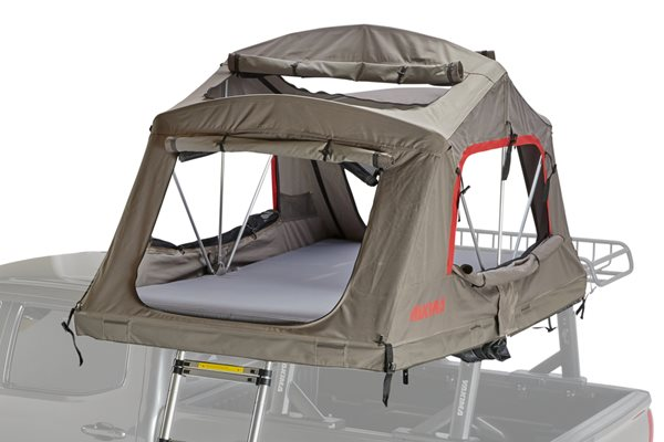Yakima SkyRise HD 3/MD Tan/Red Roof Top Tent