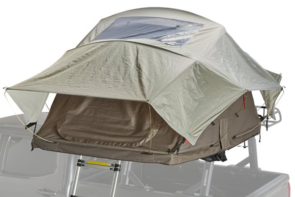 Yakima SkyRise HD 3/MD Tan/Red Roof Top Tent Alternate Image Thumbnail