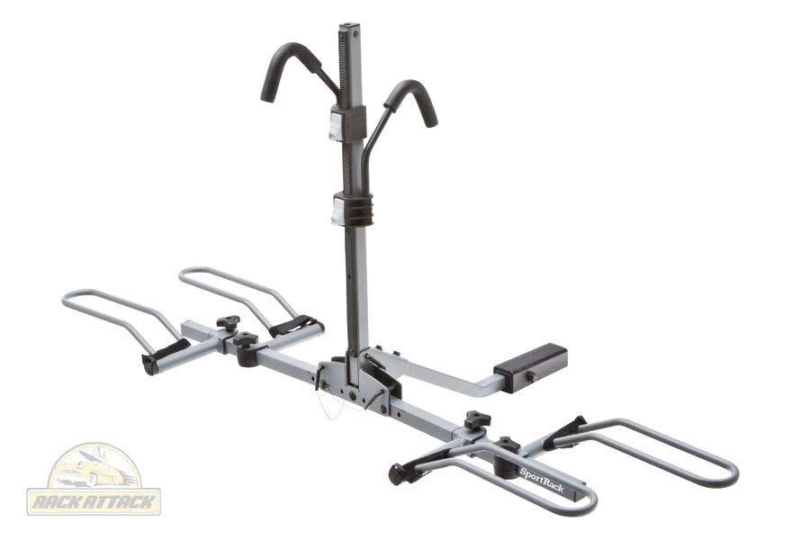 sportrack ez premium hitch platform system sportrack bike rack