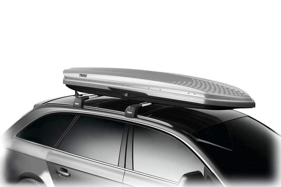 thule 633s sonic alpine silver thule cargo boxes. Black Bedroom Furniture Sets. Home Design Ideas