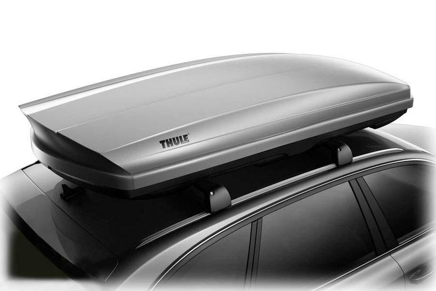 thule  sonic xxl silver thule cargo box
