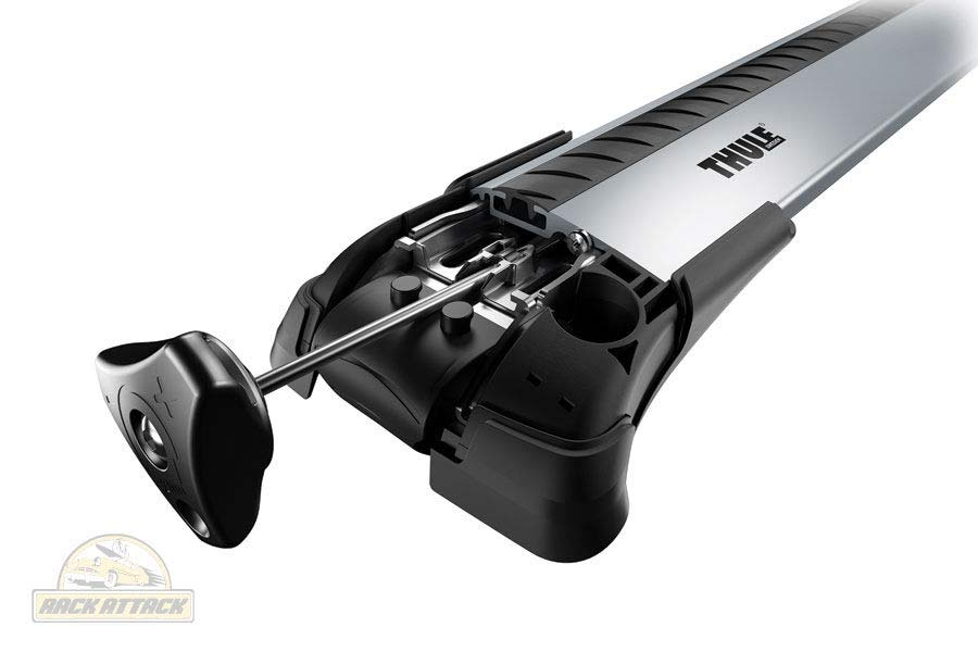 Thule Aeroblade Edge Raised Rail XL - Silver Alternate Image Thumbnail