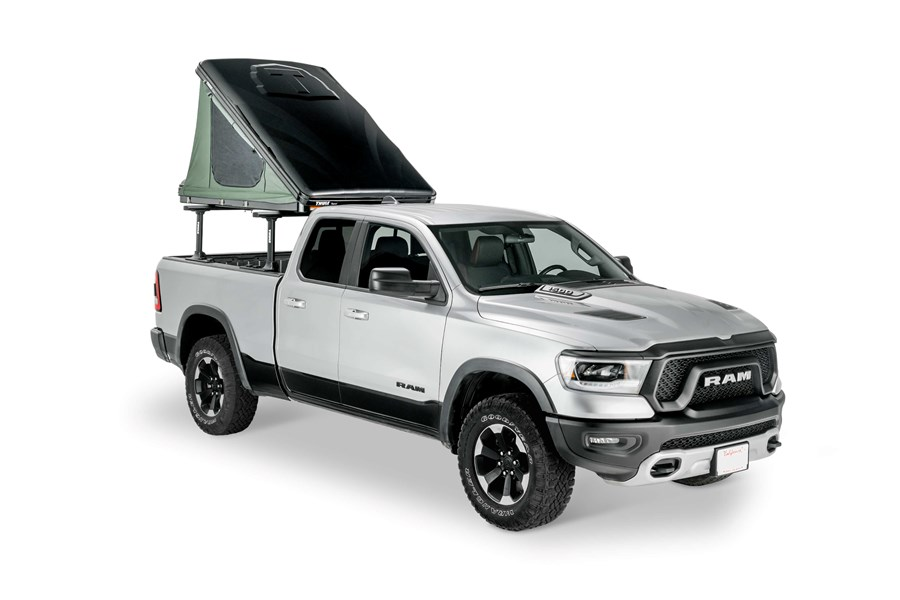 Thule Tepui Hybox Wedge - Black Roof Top Tent