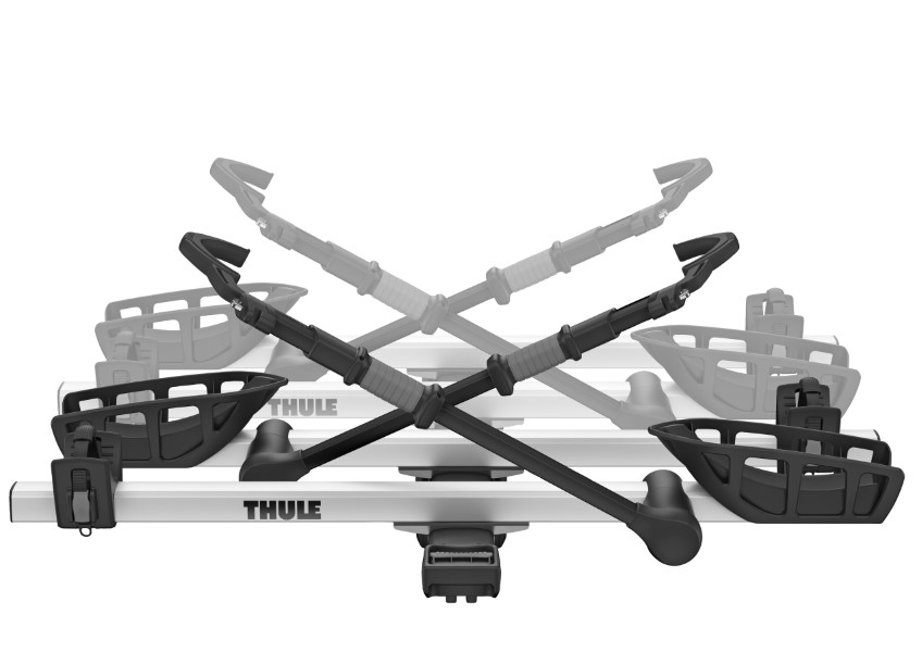 Thule T2 Pro XT - 2 Bike Add-On Silver