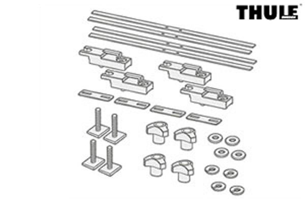 Thule Xadapt9 Mounting Adapter Hardware Kit Sidearm,Peloton,Echelon to crossbar