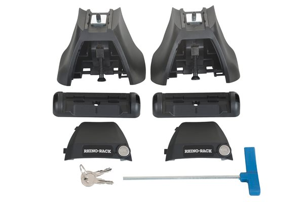 Rhino 2500 Roof Rack Leg For Bare Roofs (2 pack)