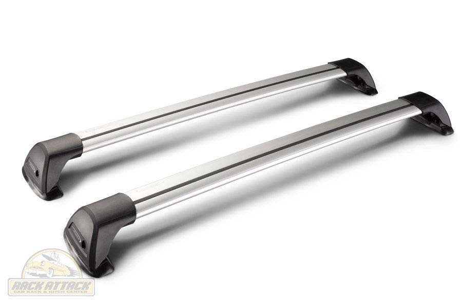 Whispbar Flush - 950mm Crossbar - Half Set