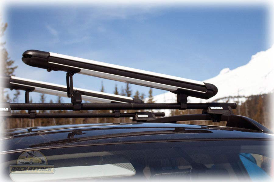 Yakima Fatcat 6 Ltd White Yakima Ski And Snowboard Racks