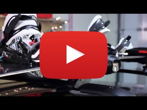 Yakima FatCat 6 Black Ski & Snowboard Rack Video Thumb