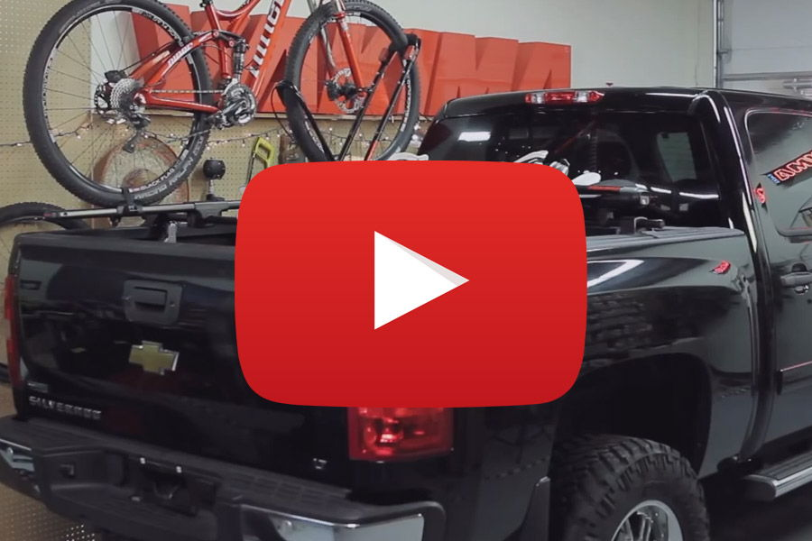 Yakima BedRock Truck Bed Carrier Video Thumb