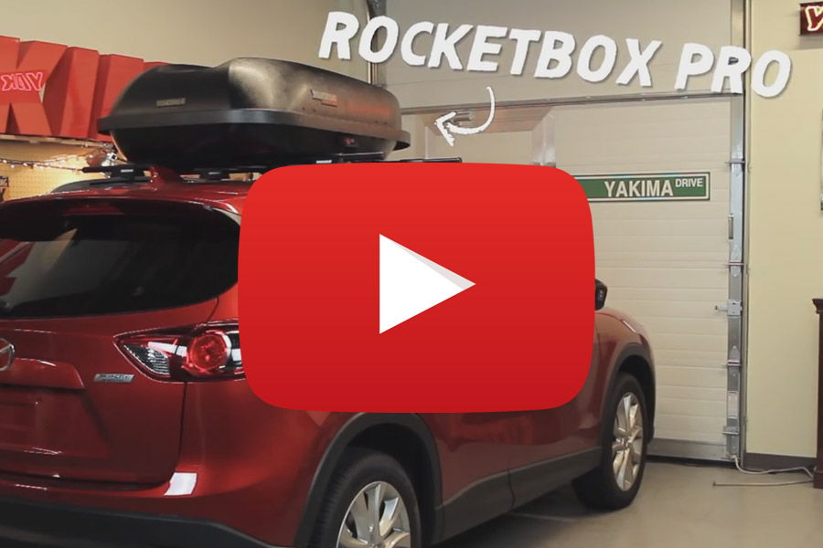 Yakima RocketBox Pro 12 Cargo Box Video Thumb